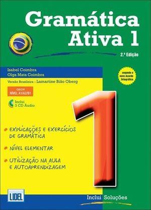GRAMATICA ATIVA 1 BRASIL+ CD-3
