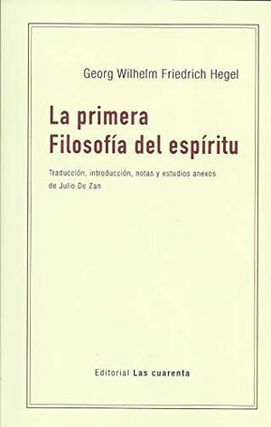 LA PRIMERA FILOSOFIA DEL ESPIRITU