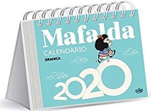 CALENDARIO 2022 MAFALDA ESCRITORIO AZUL